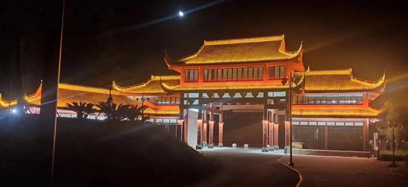 江西抚州文旅洗墙灯厂家项目:唐宋八大家——曾巩故居
